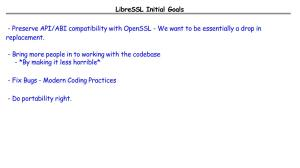 goals of LibreSSL -- they remind me of something